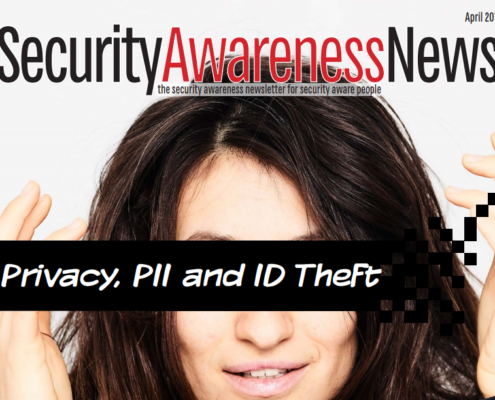 Privacy, PII and ID Theft