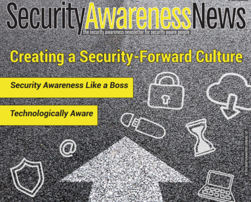 Security Newsletter Creating a Security-Forward Culture