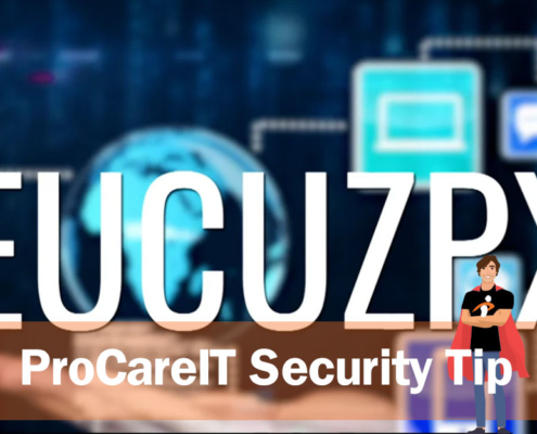 Security Tip Backup Your Data