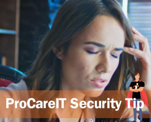 Security Tip Line of Credit Scam
