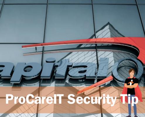 ProCare IT Security Tip Credit Freeze