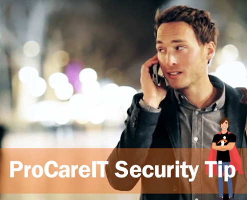 ProcareIT Security Tip Say Yes Scam