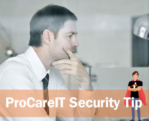 ProCareIT Financial Scam Awareness