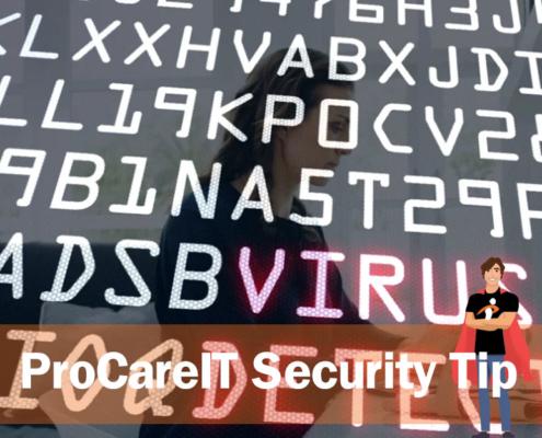 ProCareIT Security Tip USB Drives