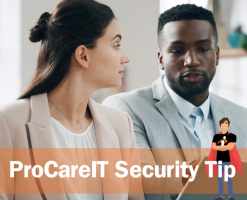 ProCare IT Security Tip two Factor Authentication