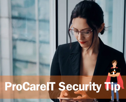 ProCare IT - Security Tip - COVID19 Texting Scams