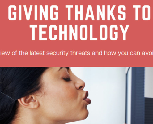 MOnthly Security News - Giving Thanks to Technology