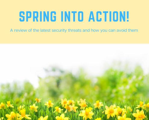 Monthly Newsletter - spring 2021