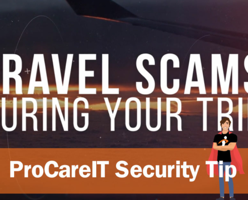 Security Tip Travel Scams